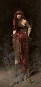 Priestess of Delphi 1891 John Collier