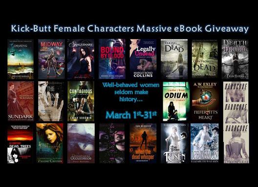 The MASSIVE Kick-Butt Female Characters Giveaway: