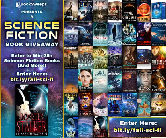Last Hours on this Science Fiction Giveaway!